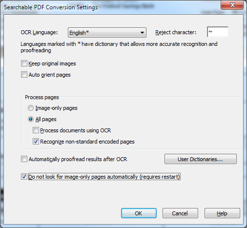 PowerPDF - Document converts to strange characters when you